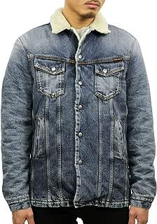[ヌーディージーンズ] Nudie Jeans 正規販売店 メンズ アウター デニムジャケット LENNY HEAVY USED DENIM JACKET 160568 B26 DENIM (コード:4132016202)