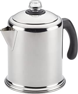 Farberware 47053 Stainless Steel Stove Top Percolator, 12-Cup