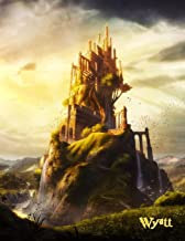 Wyatt: Fantasy Medieval Castle Themed, Personalized Book with Name, Notebook, Personal Journal or Diary, 105 Lined Pages to Write In, Cool Birthday, ... Dad, Best Friends, Co-Workers, 8 1/2