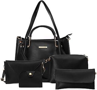 Lapis O Lupo Women Fashion Handbag Tote Bag Sling Bag Pouch & Organizer Sling Pouch Shoulder Top Handle Satchel Purse Set ...