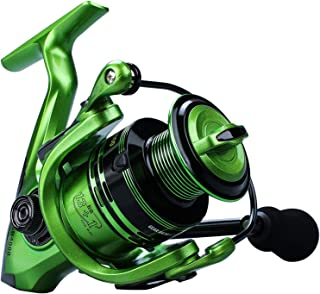 YONGZHI Bulnt Fishing Reels,13+1BB Light Weight and Ultra Smooth Powerful Spinning Reels for Saltwater and Freshwater Fishing.