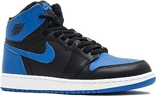 Nike Kids Air Jordan 1 Retro High OG BG Black/White 575441-007 (Size: 5.5Y)