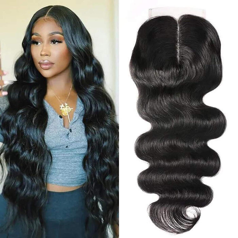 UNice Hair Nippon regular agency 4X4 Max 74% OFF Lace Closure Human T-Part 100% Brazilia