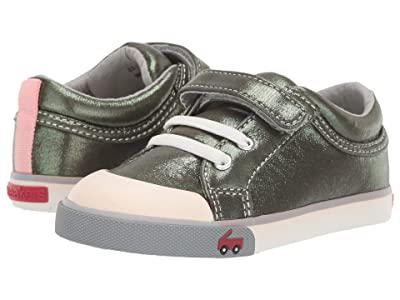 See Kai Run Kids Kristin (Toddler/Little Kid) (Olive Shimmer) Girls Shoes