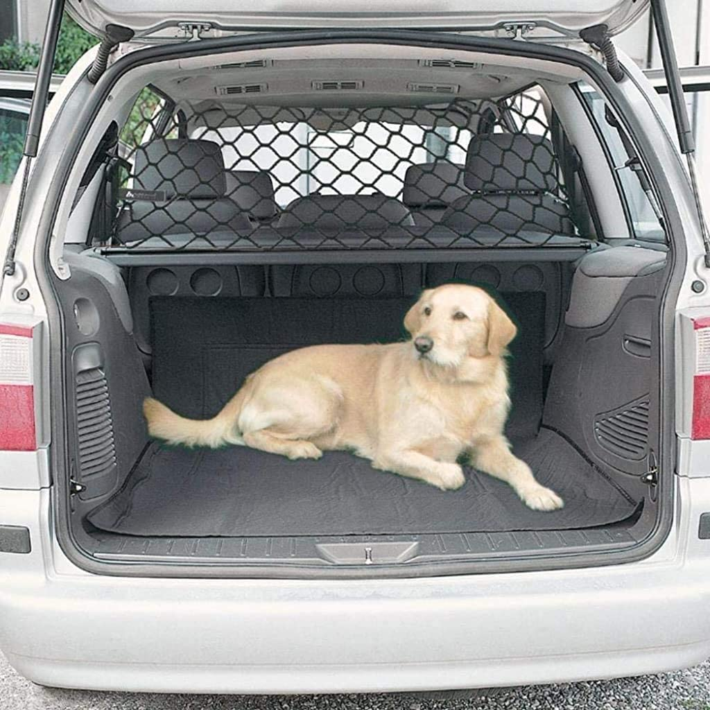 Pet Guard Net Car Dog Cat Safety Guard Barrier Protector Storage Net LC