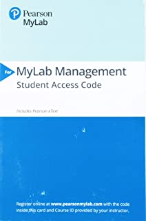 2019 Mylab Management with Pearson Etext -- Access Card -- For Strategic Management and Competitive Advantage: Concepts an...