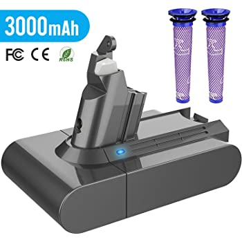 BuTure 4000mAh Batterie pour Dyson V8 Absolute Animal Fluffy