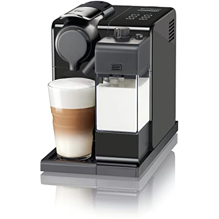 Nespresso Lattissima Touch Original Espresso Machine with Milk Frother by De'Longhi Washed Black