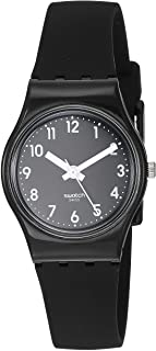 Women's New Core Quartz Silicone Strap, Black, 12 Casual Watch (Model: LB170E)