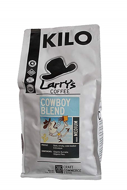 Larry's Beans Discount mail order Coffee Cowhole Beanoy Whole Kilo online shop Organ Bean Blend
