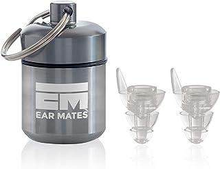 EarMates, tapones auditivos reutilizables de silicona suave con cancelación de ruido, para trabajo, viajes