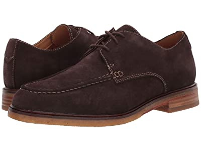 Clarks Clarkdale Apron (Dark Brown Suede) Men