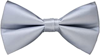 Men's Big Boy Solid Color Pre-Tied Bow Tie Tuxedo Wedding Banquet Formal Bowtie