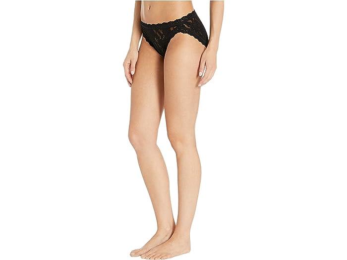 Hanky Panky Signure Lace V-leg Bikini Black Underwear & Intimes