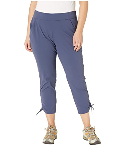 Columbia Plus Size Anytime Casualtm Ankle Pants (Nocturnal) Women