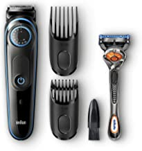 Braun Beard Trimmer & Hair Clipper, 2 Combs and Gillette ProGlide Razor Included, BeardTrimmer BT5040, 39 Length Settings ...