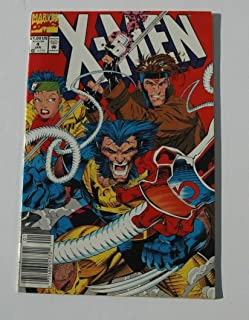 X-Men #4 Comic Book - Newsstand Edition - 1st Appearance of Omega Red