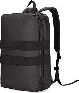 CAMEL CROWN Convertible Backpack for Men/Women Messenger Bag Laptop Backpacks Multi-Function Daypack Fits 15.6 Inch Laptop