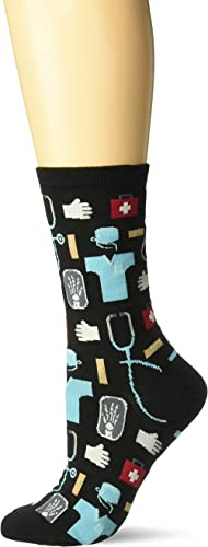 Hot Sox womens Novelty Occupation Casual Crew Socks
