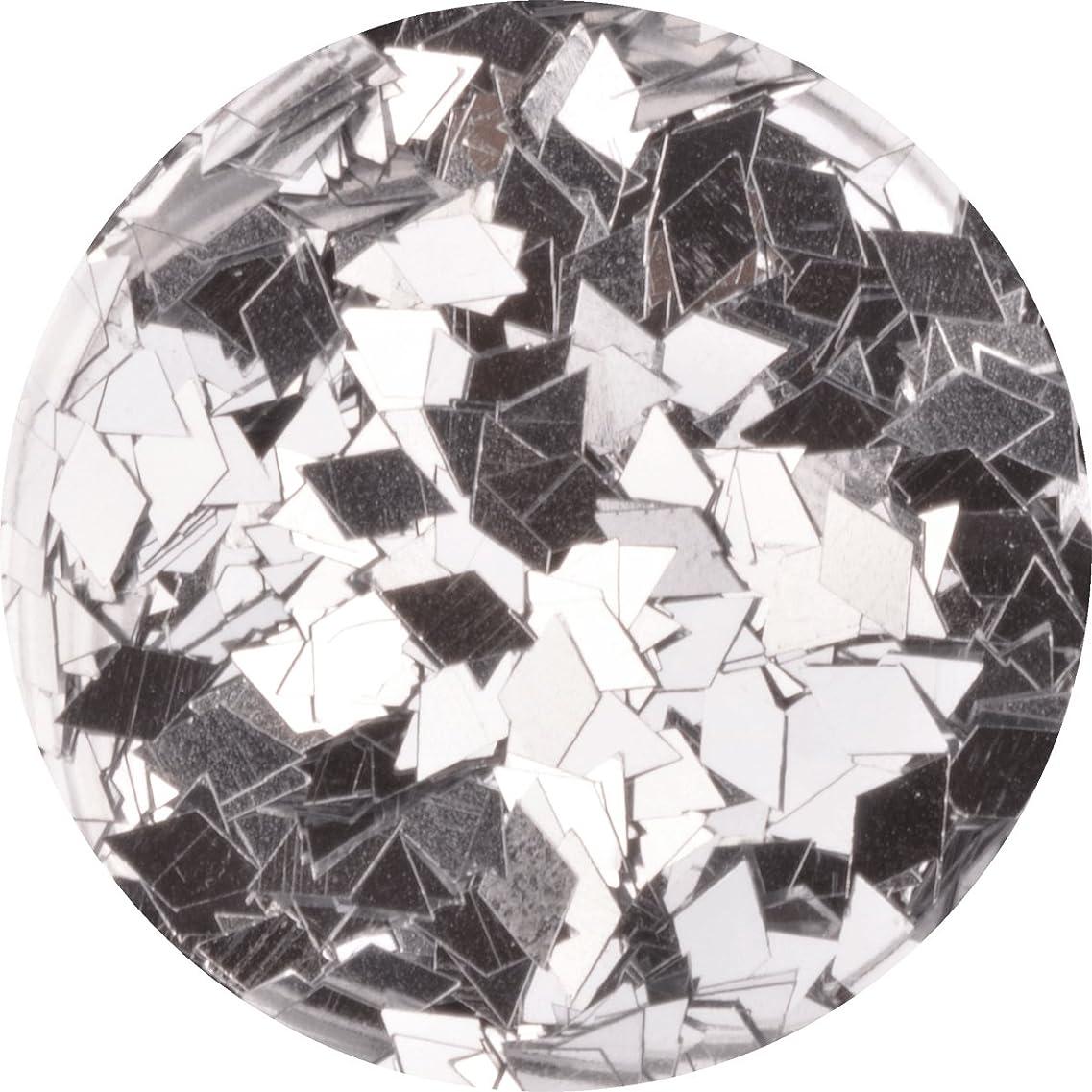 要件入手します大使ひし形 ダイヤ型 ホログラム 選べる12色 (09.シルバー)