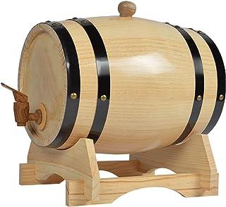 Stockage D'alcool 3L/5L/10L/15L/20L/25L/30L/50L Vintage Bois Chêne Tonneau De Vin, En Utilisant Chêne Blanc Handcrafted, W...