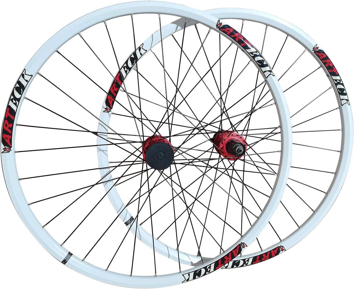 MZPWJD MTB In a popularity sale Bike Wheelset 26 Inch Bicycle Doubl Wheels Disc Brake