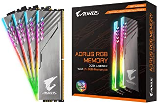 GIGABYTE DDR4-3200MHz デスクトップPC用 メモリモジュール AORUS RGB Memory シリーズ 16GB [8GB×2枚] GP-AR32C16S8K2SU416R