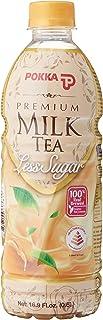 POKKA Premium Milk Tea Less Sugar, 500 ml (Pack of 24)