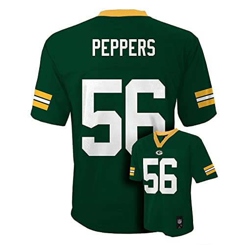 Julius Peppers Green Bay Packers Green NFL Youth Home Mid Tier Jersey cad5cf53669