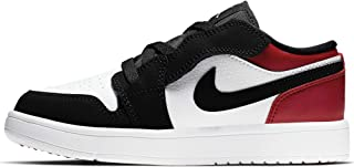 Jordan 1 Low ALT White/Black-Gym Red (PS)