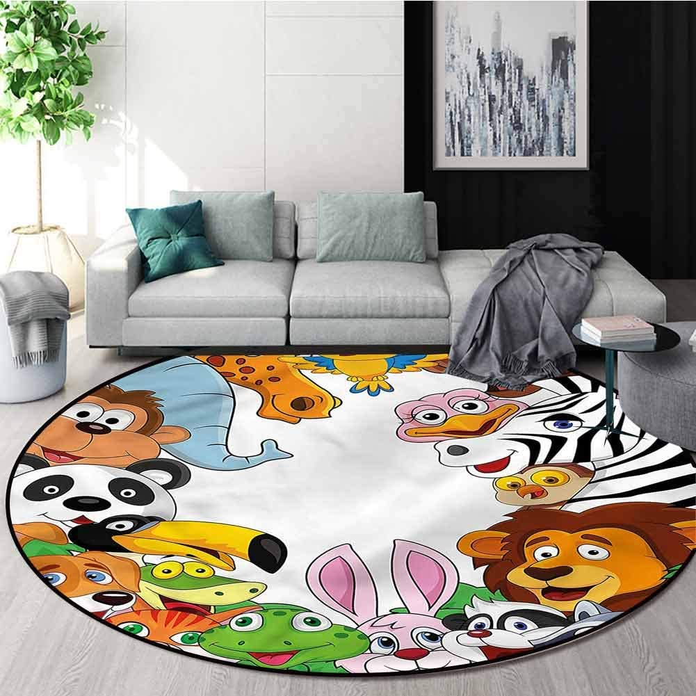 RUGSMAT Nursery Modern Vintage Limited time cheap sale Rugs Non Tropical Animals Max 84% OFF Jungle