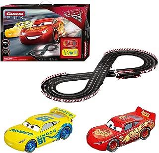 Carrera Evolution 20025226 Disney Pixar Cars Analog Electric 1:32 Scale Slot Car Racing Track Set