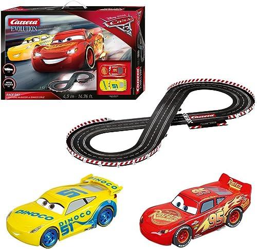 Carrera 20025226 - Evolution Disney Pixar Cars 3 - Race Day