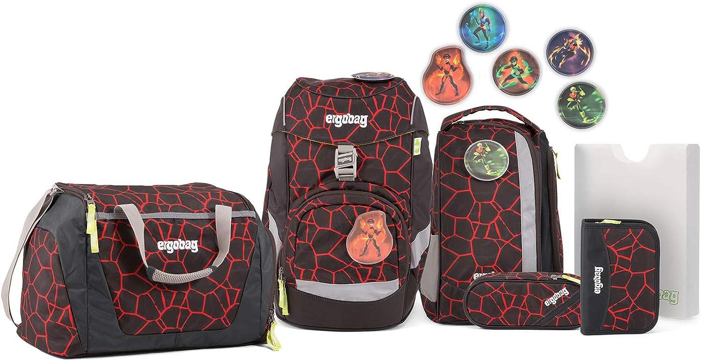 Ergobag Pack SupBrheld Schulranzen Set 7tlg.