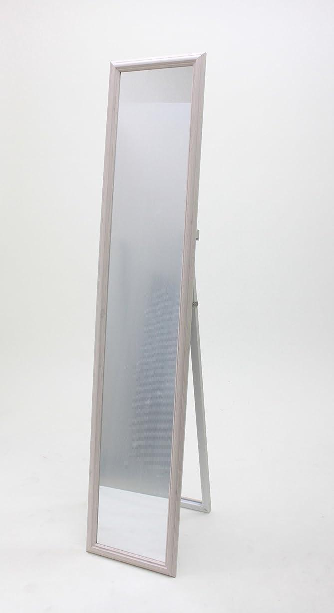 溶岩傭兵お茶武田コーポレーション 【鏡?ミラー?姿見】 スタンドミラー ホワイト STD-M02WH