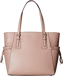 721303a3d153 Michael michael kors hamilton center stripe east west satchel ecru ...