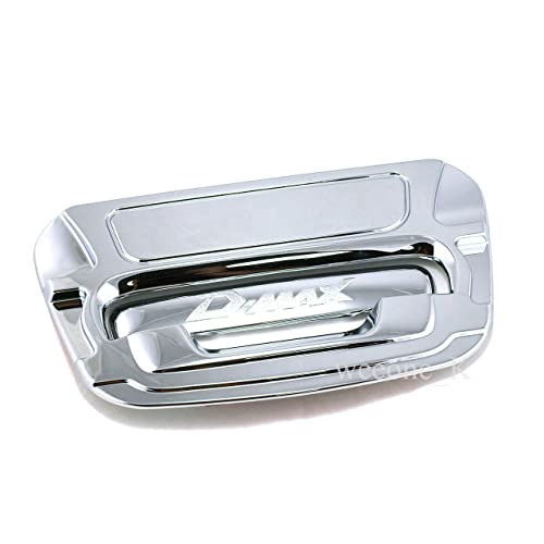 Chrome Outside Rear Back Liftgate Tailgate Bowl Handle Cover Trim For Isuzu Dmax D-max