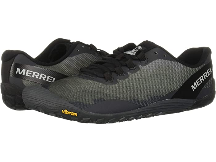 Merrell Mens Vapor Glove 4 Trail Running Shoes Trainers Sneakers Black Sports