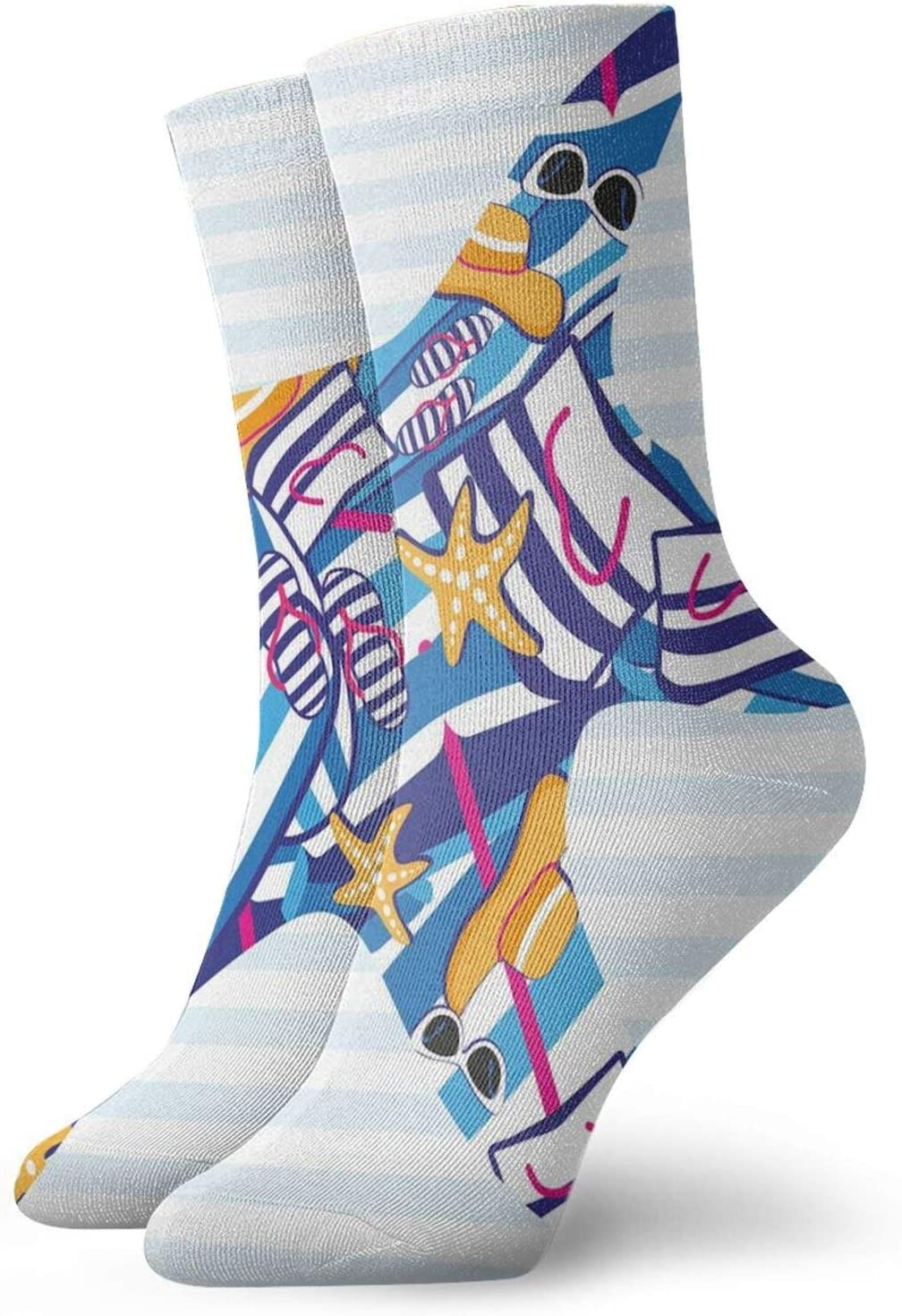 Ankle Compression Sock for Men Starfish and 5 popular Cartoon Seattle Mall Women Style