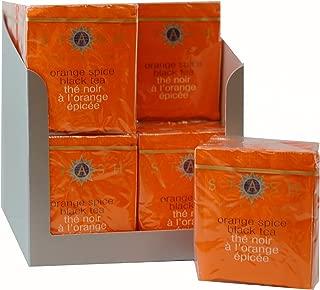 Stash Tea Orange Spice Black Tea 10 Count Tea Bags in Foil (Pack of 12) (packaging may vary) Individual Black Tea Bags for Use in Teapots Mugs or Cups, Brew Hot Tea or Iced Tea