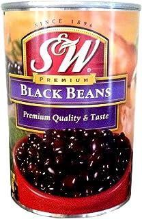 S&W Premium BLACK BEANS 15oz (10 Pack)