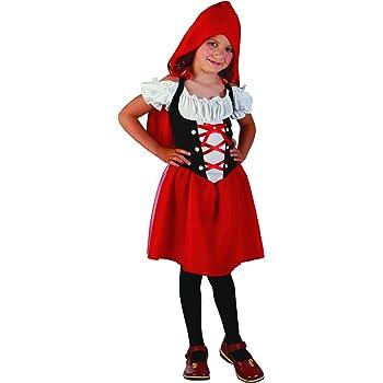 Disfraz caperucita roja niña 10-12 años (140/152): Amazon.es ...