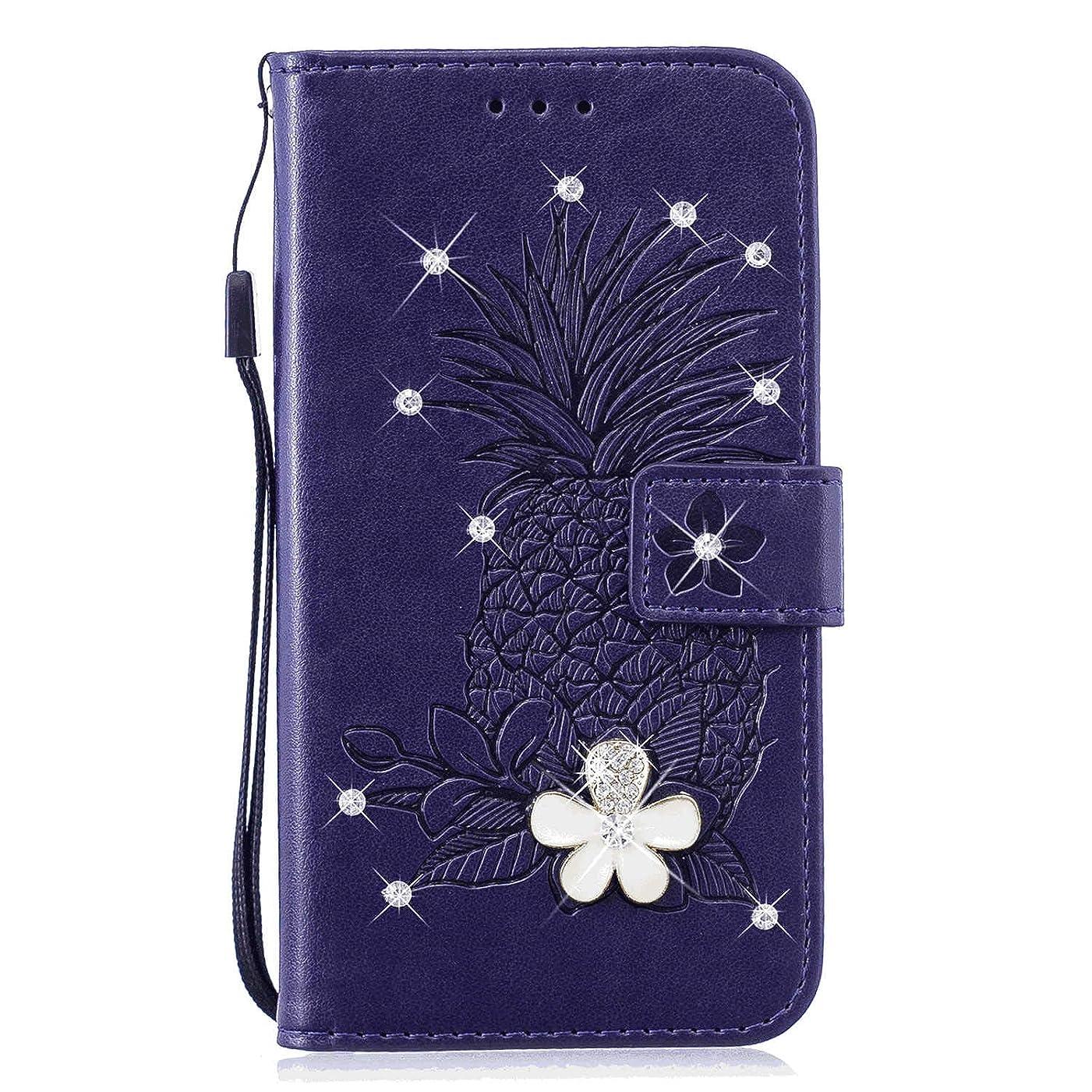 ステープル小さいサラミiPhone 11 PUレザー ケース, 手帳型 ケース 本革 カバー収納 防指紋 ビジネス 財布 携帯カバー 手帳型ケース iPhone アイフォン 11 レザーケース