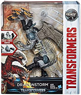 Transformers: The Last Knight Premier Edition Leader Dragonstorm Combiner - Convertible Toy: Fight as Two Knights or One T...