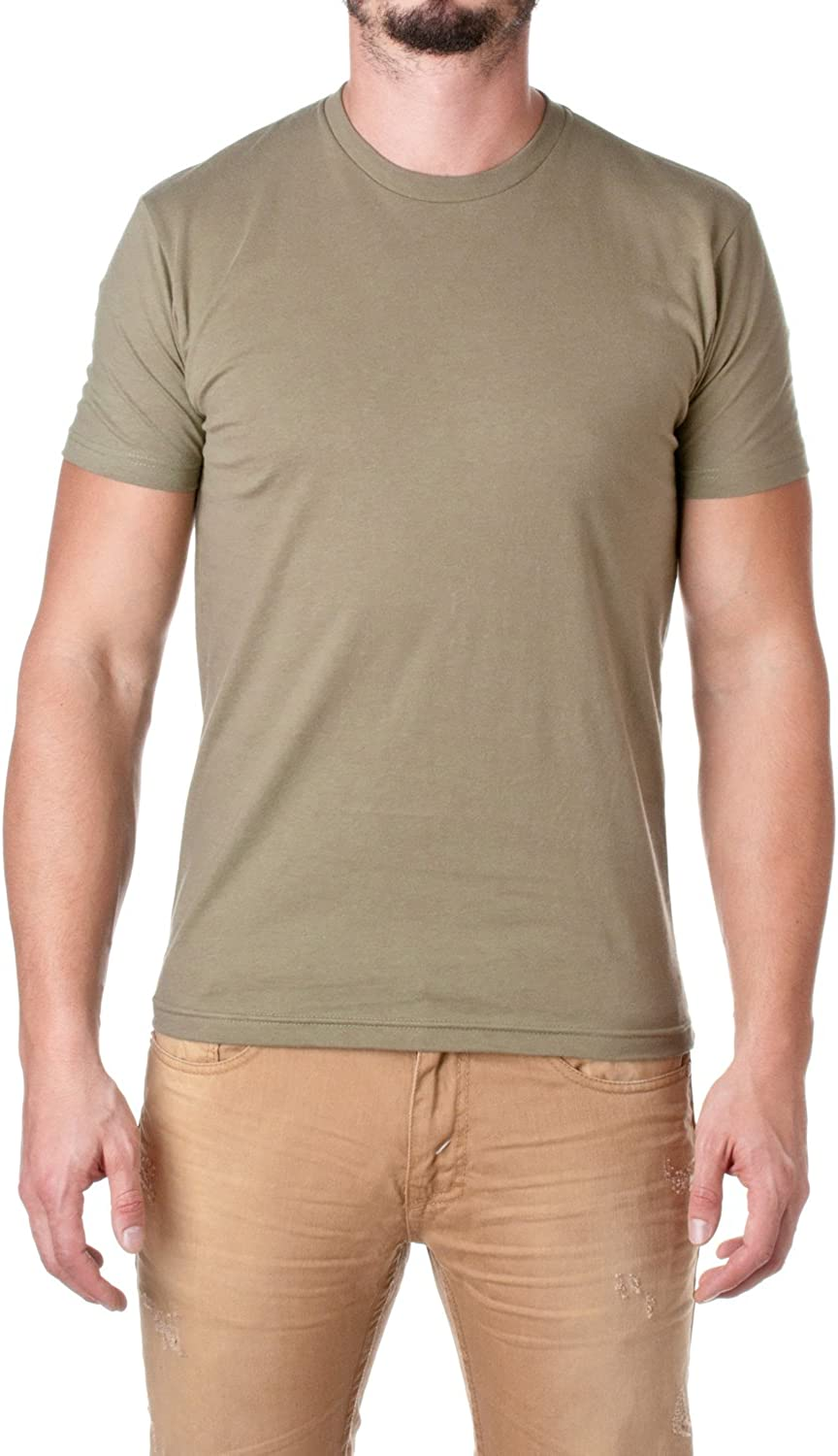 Next Level Mens Premium Short-Sleeve Brand new Crew Fitted shop T-Shirt