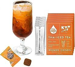 Tea Drops Thai Iced Tea   Authentic Instant Thai Tea Mix   Flavored Black Ice Tea +..