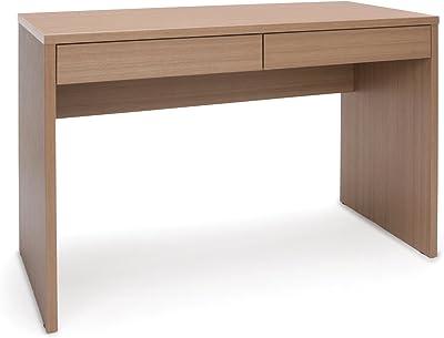 OFM ESS Collection 2-Drawer Solid Panel Office Desk, in Harvest (ESS-1012-HVT)
