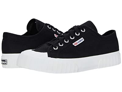 Superga 2630 Cotu (Black/White) Women