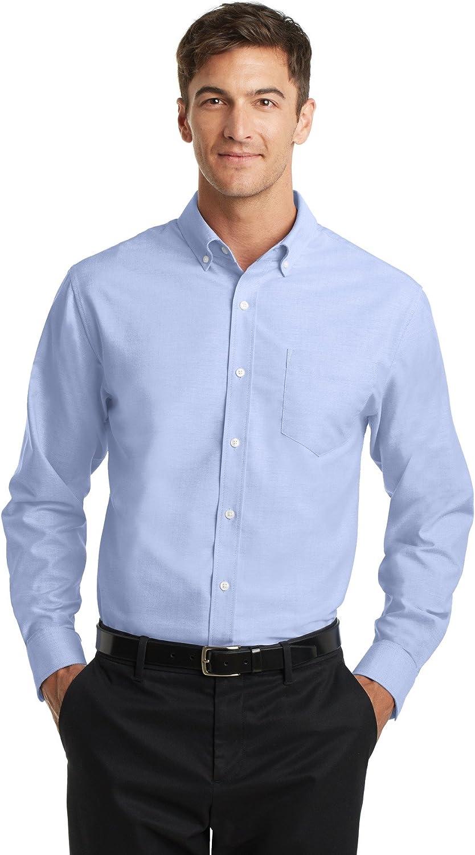 Port Authority Mens Tall SuperPro Oxford Shirt (TS658)