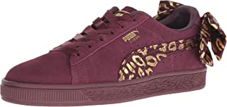 PUMA Kids Girl's Suede Bow Athluxe Jr (Big Kid)